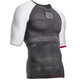 Compressport On/Off Multisport Hardloopshirt korte mouwen grijs/wit